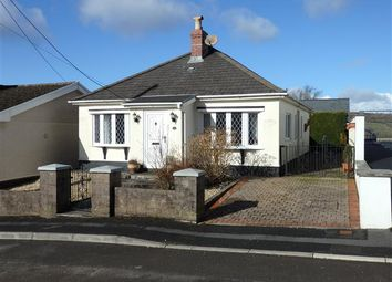 Thumbnail 2 bed detached bungalow for sale in Warren Cottage, 34, Heol Rhosybonwen, Cefneithin, Llanelli