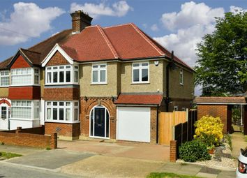 Thumbnail 4 bed semi-detached house for sale in Josephine Avenue, Lower Kingswood, Tadworth, Surrey