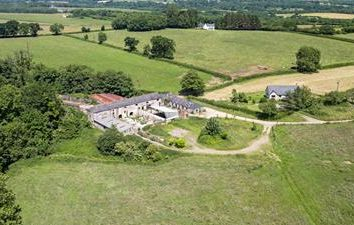 Thumbnail Land for sale in St Y Nyll Barns, Heol St Y Nyll, St Brides-Super-Ely, Vale Of Glamorgan