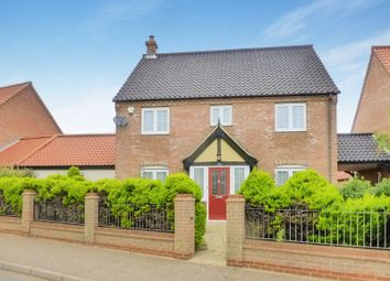 Thumbnail 4 bedroom link-detached house for sale in Waters Lane, Hemsby, Great Yarmouth