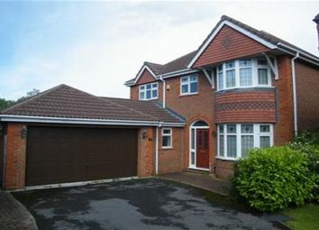 Thumbnail 4 bedroom detached house to rent in Parkham Close, Westhoughton, Bolton