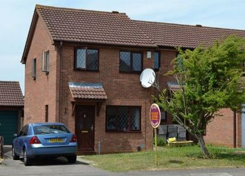 Thumbnail 2 bed end terrace house to rent in Hedge End, East Hunsbury, Northampton