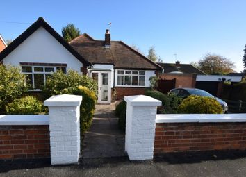 Thumbnail 2 bed bungalow for sale in Hallam Avenue, Birstall, Leicester