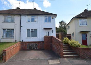 Thumbnail 3 bed semi-detached house for sale in Leechcroft Avenue, Swanley, Kent