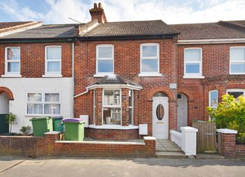 Thumbnail 3 bed terraced house for sale in Church Road, Folkestone