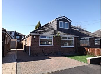 Thumbnail 3 bed semi-detached bungalow for sale in Teasdale Close, Oldham