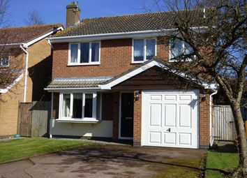 Thumbnail 4 bed detached house for sale in Wolsey Close, Crick, Northampton