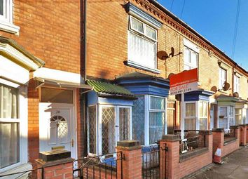 Thumbnail 2 bed terraced house for sale in Lancashire Street, Leicester