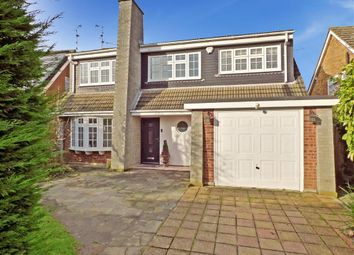 Thumbnail 4 bed detached house for sale in Norsey View Drive, Billericay, Essex