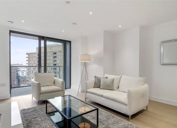 Thumbnail 1 bed flat to rent in Heritage Tower, 118 East Ferry Road, London