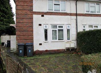 1 bed maisonette for sale in Mapleton Grove, Birmingham B28