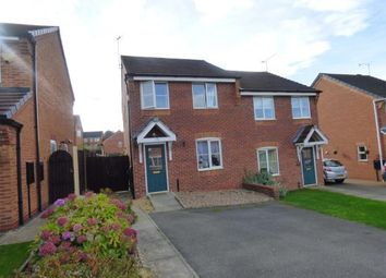 Thumbnail 3 bedroom semi-detached house for sale in Bracken Road, Shirebrook, Mansfield, Nottinghamshire
