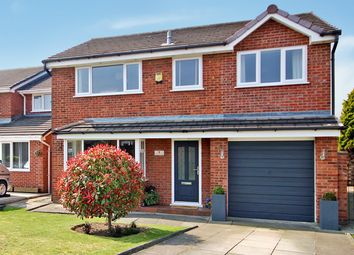 Thumbnail 4 bedroom detached house for sale in Monmouth Close, Woolston, Warrington