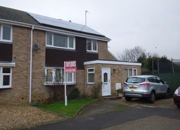 Thumbnail 3 bed semi-detached house for sale in Welland Drive, Newport Pagnell, Milton Keynes, Bucks