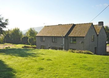 Thumbnail 5 bedroom detached house for sale in Llangorse, Brecon