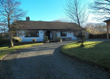 Thumbnail 4 bed detached bungalow for sale in Pontgarreg, Llangranog, Carmarthenshire