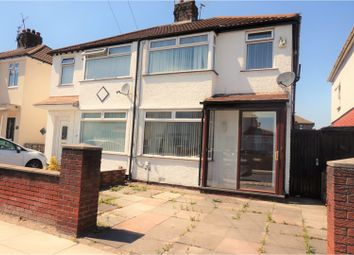 Thumbnail 3 bed semi-detached house for sale in Easton Road, Liverpool