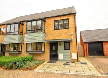 Thumbnail 4 bed semi-detached house for sale in Bluegown Avenue, Leybourne, West Malling