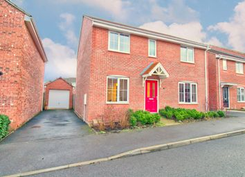 Thumbnail 4 bed detached house for sale in Palace Gardens, Clipstone Village, Mansfield
