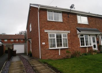 Thumbnail 2 bed semi-detached house to rent in Willow Grove, Ossett