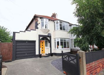Thumbnail 3 bed semi-detached house for sale in Wood Road, Halewood, Liverpool