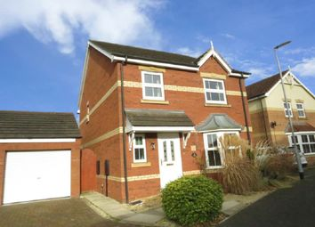 Thumbnail 3 bed detached house for sale in The Furlongs, Market Rasen
