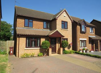 Thumbnail 4 bed detached house for sale in Velocette Way, Duston, Northampton