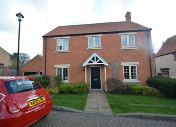 Thumbnail 4 bed property to rent in Berrystead, Castor, Peterborough
