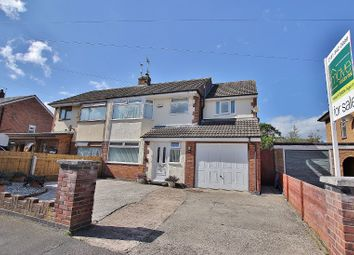 Thumbnail 4 bed semi-detached house for sale in Ballard Road, Newton, Wirral