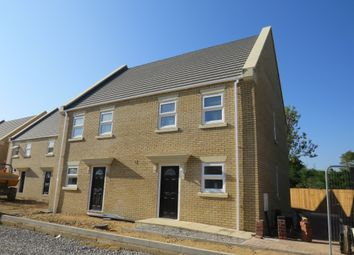 Thumbnail 3 bedroom semi-detached house for sale in Penwald Court, Peakirk, Peterborough