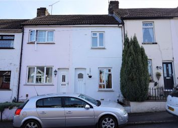 Thumbnail 2 bed terraced house to rent in Roberts Road, Gillingham