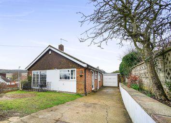 Thumbnail 3 bed detached bungalow for sale in Hailsham Avenue, Saltdean, Brighton