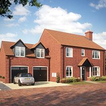 Thumbnail 4 bedroom detached house for sale in Magpie Close, Holt