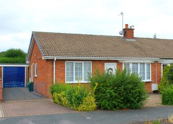 Thumbnail 3 bed semi-detached bungalow for sale in Croft Way, Camblesforth, Selby