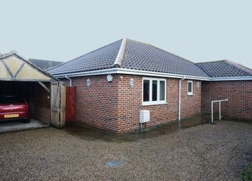 Thumbnail 3 bed detached bungalow for sale in Garden Lane, Worlingham, Beccles