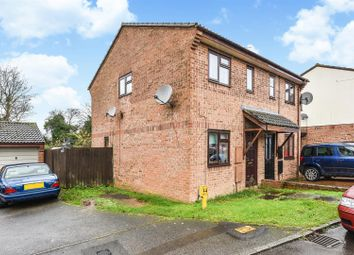 Thumbnail 2 bed semi-detached house for sale in Millstream Close, Andover