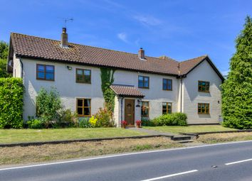 Thumbnail 5 bedroom detached house for sale in Bury Road, Sicklesmere, Bury St. Edmunds