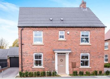 Thumbnail 3 bed detached house for sale in Sunloch Close, Burbage, Hinckley