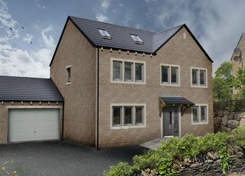 Thumbnail 5 bed detached house for sale in Plot 1, Dodlee Lane, Longwood, Huddersfield