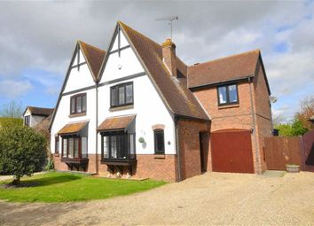 Thumbnail 4 bedroom semi-detached house for sale in Fitzwarren, Shoeburyness, Southend-On-Sea