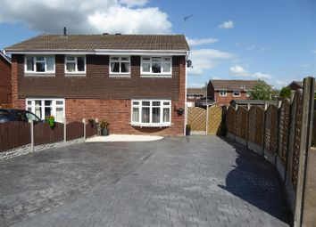 Thumbnail 3 bed semi-detached house for sale in Stoneydale Close, Off Meadow Lane, Newhall