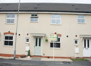 Thumbnail 3 bed town house for sale in Percival Way, Groby, Leicester