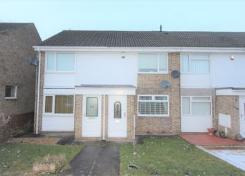 Thumbnail 2 bed terraced house for sale in Thorntons Close, Pelton, Chester Le Street