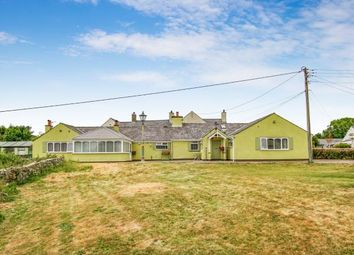Thumbnail 3 bed detached house for sale in Llanddona, Beaumaris, Anglesey, North Wales