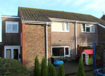 Thumbnail 3 bed semi-detached house for sale in Cross Acre, West Cross, Swansea, West Glamorgan.