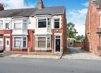3 bed terraced house for sale in Clifton Road, Darlington, County Durham DL1