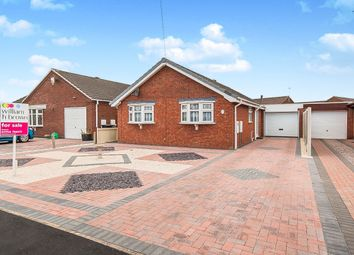Thumbnail 2 bed detached bungalow for sale in St. Valentines Way, Skegness