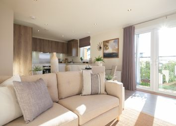 Thumbnail 2 bed flat for sale in Bleriot Gate, Station Road, Addlestone, Surrey