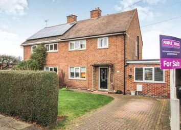 Thumbnail 4 bedroom semi-detached house for sale in Walnut Close, Chellaston, Derby