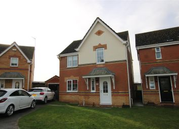 Thumbnail 3 bed detached house for sale in Sunderland Close, Skellingthorpe, Lincoln
